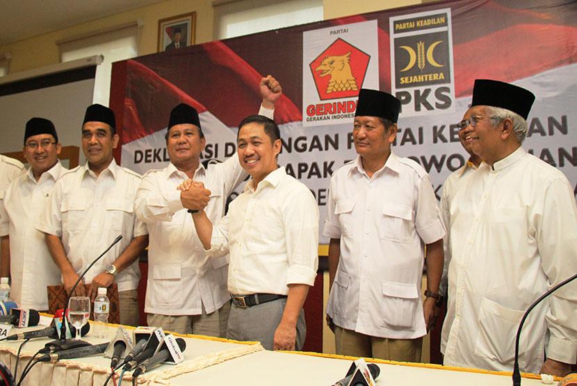 Deklarasi dukungan PKS pada Prabowo Subianto