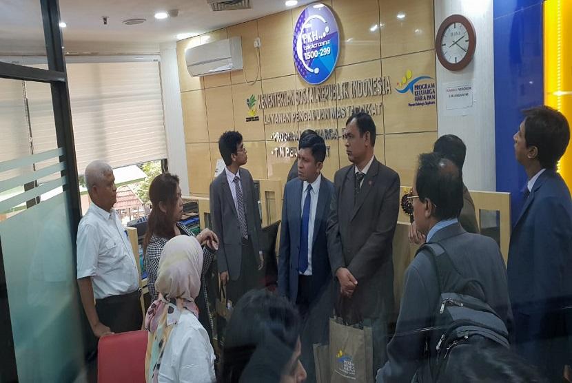 Delegasi Bangladesh berkunjung ke Kementerian Sosial (Kemensos) RI di Jakarta, Senin (18/12), untuk belajar tentang penyelenggaraan Program Keluarga Harapan (PKH).