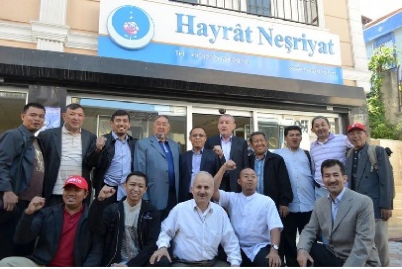 Delegasi Indonesia sebanyak 25 orang tiba di Istanbul, Turki, untuk menghadiri Simposium Internasional Said Nursi