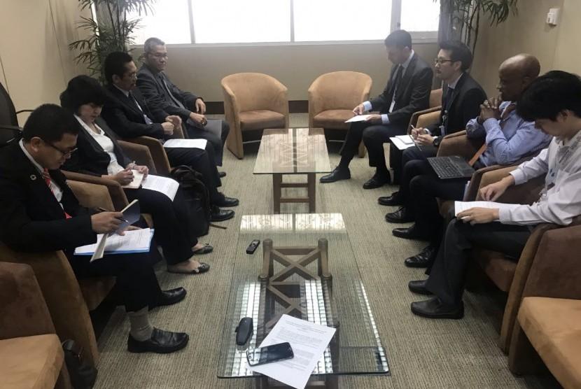 Delegasi Kementan Indonesia dan Thailand berkoordinasi di Bangkok pada Kamis 30 Mei 2019