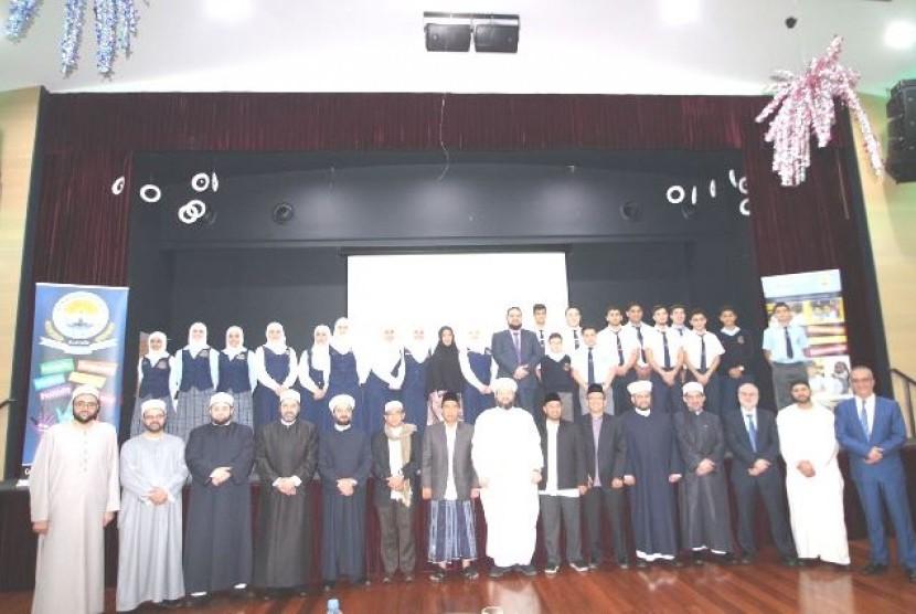 Delegasi MUI DKI Jakarta usai presentasi dakwah Islam moderat di Darul Fatwa, Sidney, Australia