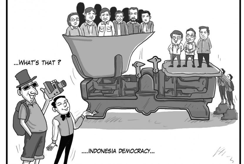Demokrasi Indonesia (ilustrasi)