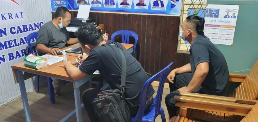 Demokrat klaim kadernya di Kabupaten Melawi diancam intel polres.