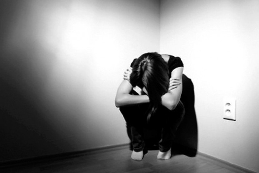 Depresi (ilustrasi).