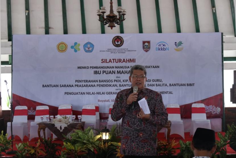 Deputi Bidang Koordinasi Kebudayaan Kementerian Koordinator Bidang Pembangunan Manusia dan Kebudayaan (Kemenko PMK) Nyoman Shuida.