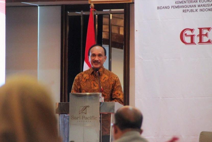 Deputi Bidang Koordinasi Peningkatan Kesehatan, Kemenko PMK, Sigit Priohutomo.