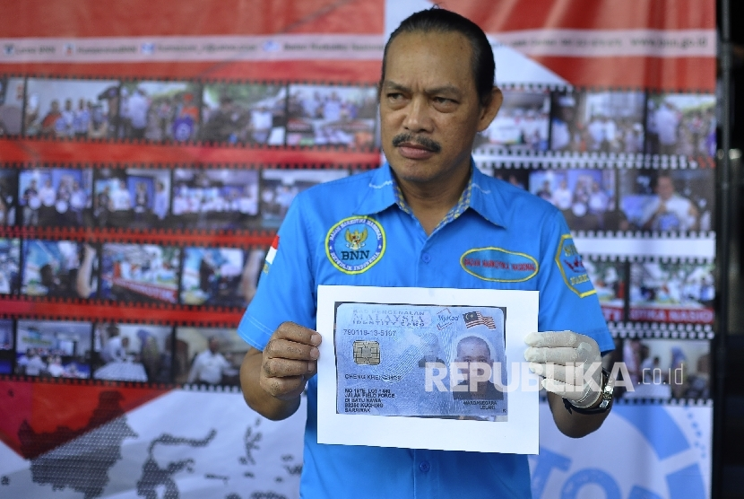 BNN Deputy Eradication, Inspector General Arman Depari