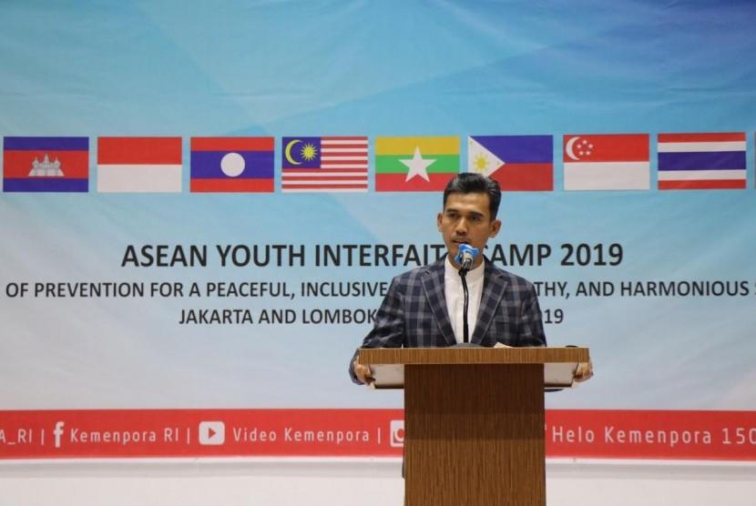 Deputi pengembangan Pemuda Kementerian Pemuda dan Olahraga RI, Asrorun Niam Sholeh