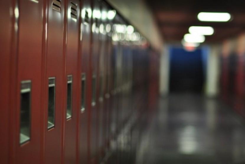 Dereta loker sekolah di Norwegia, (ilustrasi)