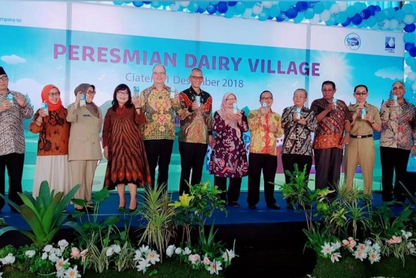 Desa Susu diresmikan Selasa (11/12) di PTPN VII Subang, Jawa Barat.