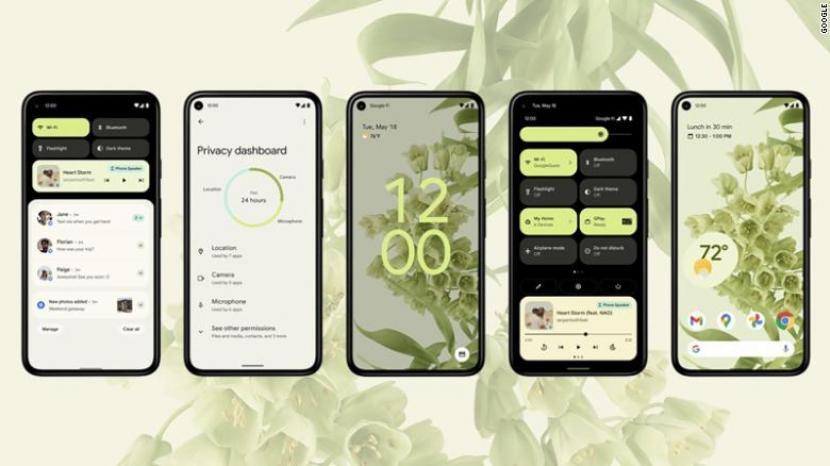 Desain Android 12