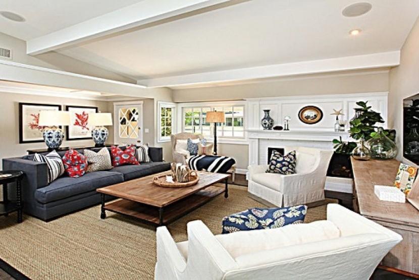 Desain Interior rumah. Ilustrasi
