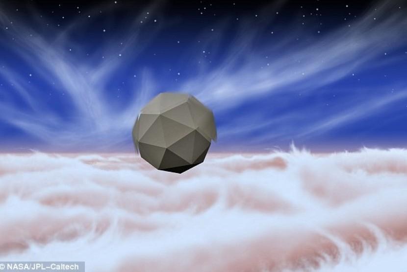 Desain robot Windbot yang sedang dikembangkan NASA untuk menjelajah Jupiter