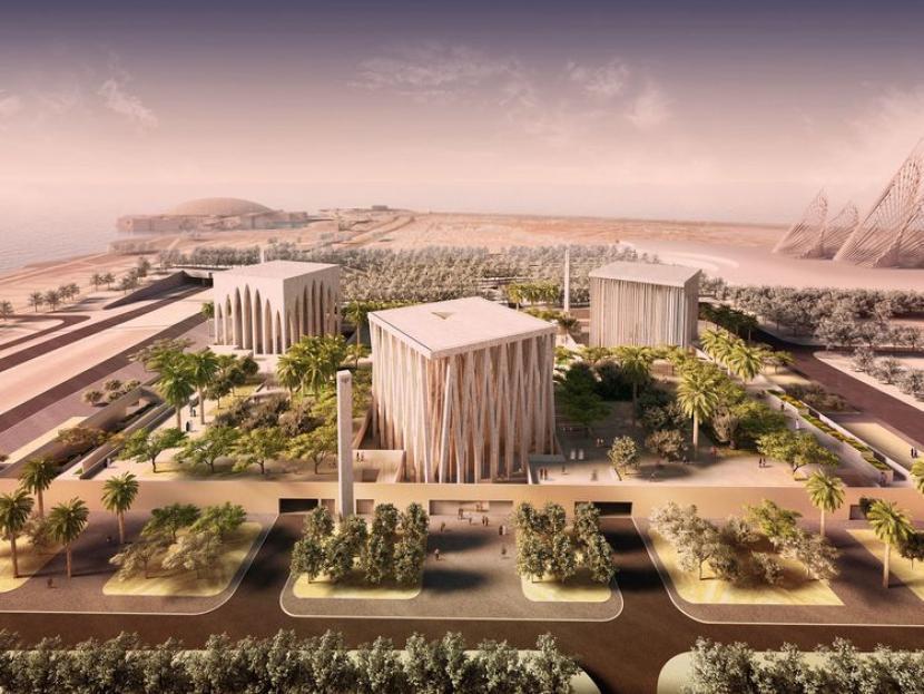 Desain Rumah Keluarga Ibrahim di Abu Dhabi