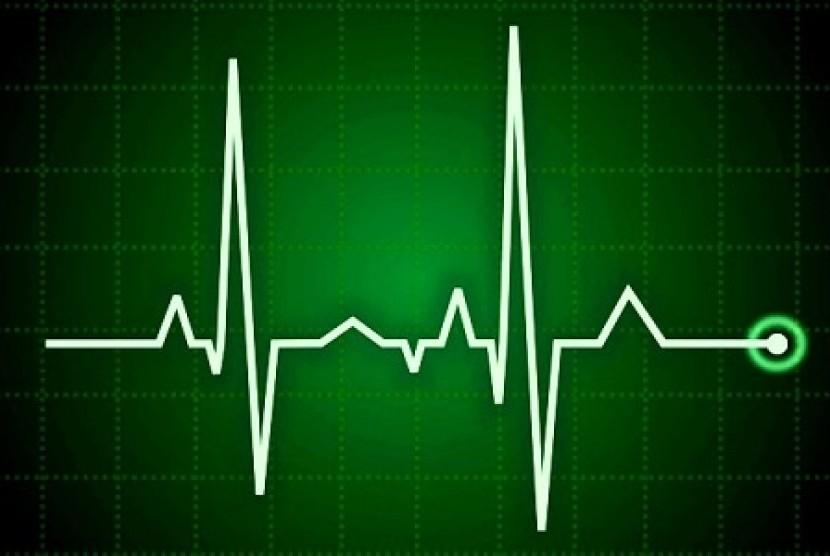Detak jantung. Ilustrasi