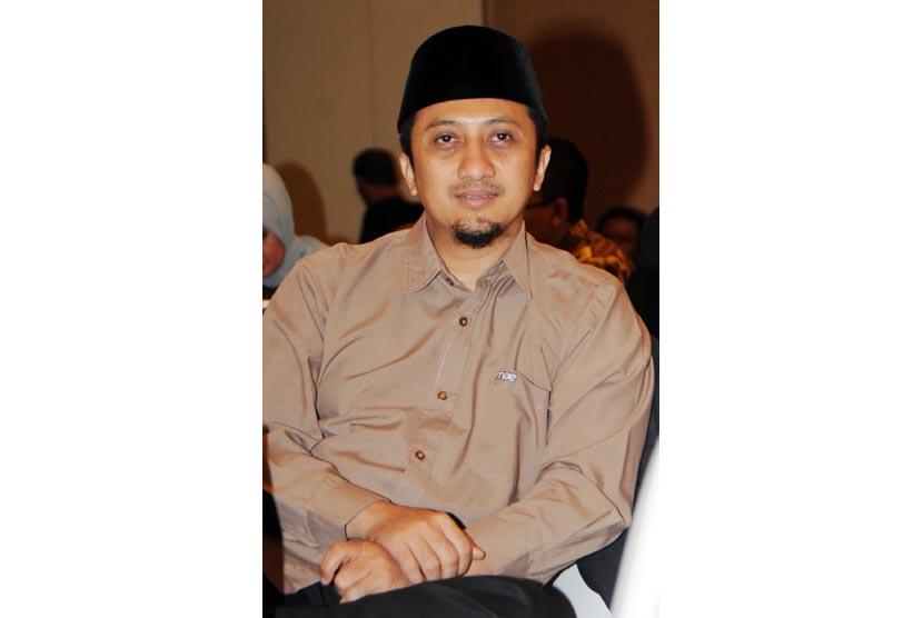 Dewan Pembina PPPA Darul Quran Yusuf Mansyur. (Republika/ Darmawan)