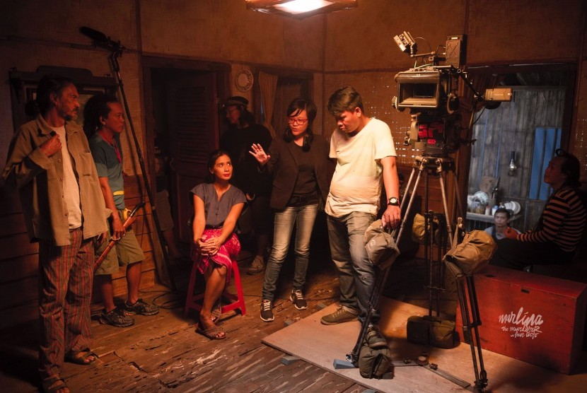 Di balik layar pembuatan film Marlina si Pembunuh dalam Empat Babak.