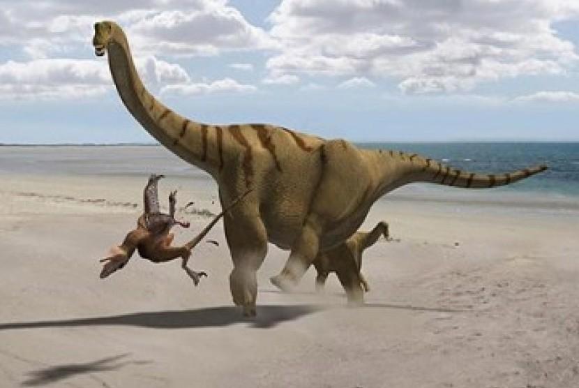Studi Sebut Asteroid Sebabkan Kepunahan Dinosaurus