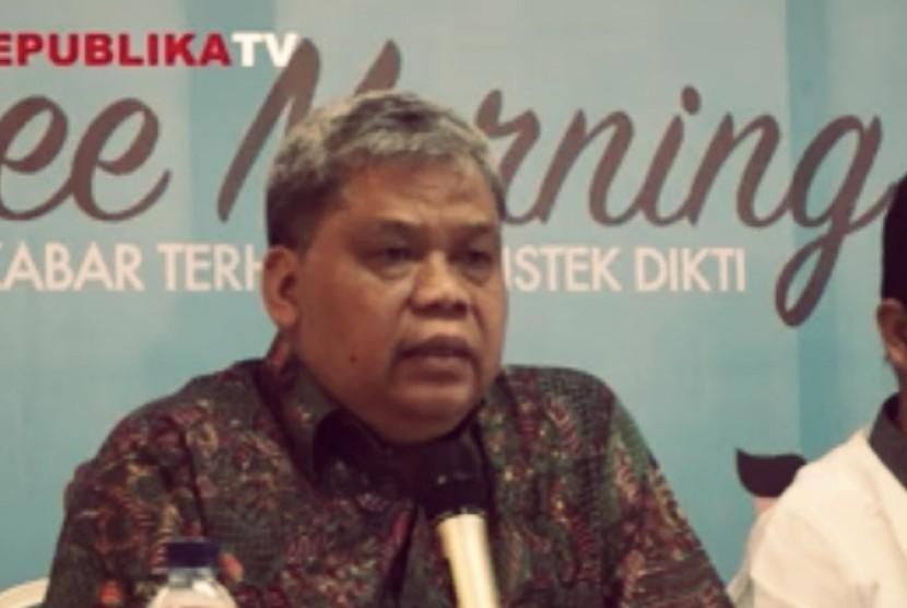 Direktorat Jenderal Kelembagaan Ilmu Pengetahuan Teknologi dan Pendidikan Tinggi, Patdono Sumignjo