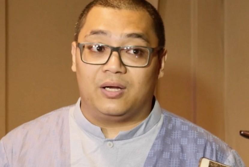 Direktur Eksekutif Median, Rico Marbun