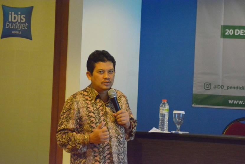Direktur Jenderal Sumber Daya Iptek dan Dikti Kemenristekdikti Profesor Dr Ali Ghufron Mukti, M.Sc., Ph.D.