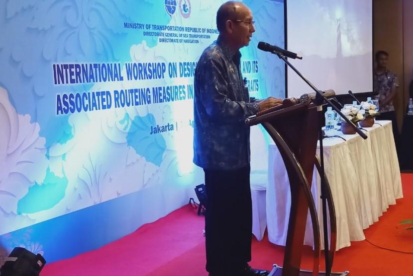 Direktur Kenavigasian, Ditjen Hubla, Basar Antonius, menjelaskan, bahwa proposal Indonesia untuk menetapkan TSS di Selat Sunda dan Selat Lombok  bertujuan untuk meningkatkan keselamatan pelayaran serta perlindungan lingkungan maritim di kedua Selat tersebut.