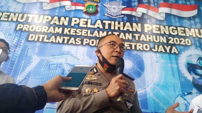 Direktur Lalu Lintas (Dirlantas) Polda Metro Jaya, Kombes Sambodo Purnomo Yogo.
