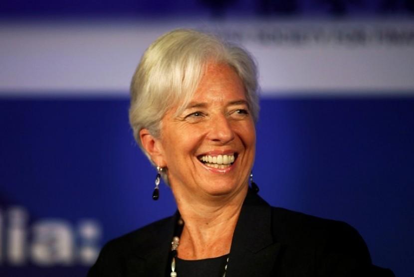 Direktur Pelaksanaan IMF, Christine Lagarde