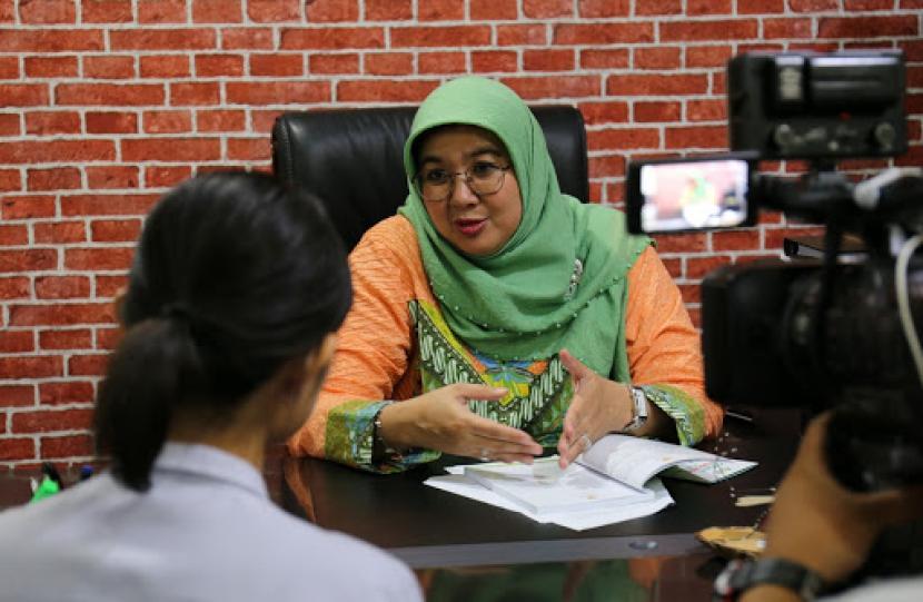 Direktur Penyakit Tular Vektor dan Zoonotik Kemenkes, Siti Nadia Tarmizi.