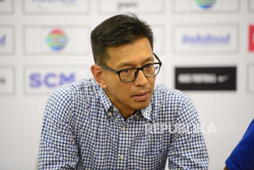 Direktur PT Persib Bandung Bermartabat Teddy Tjahyono