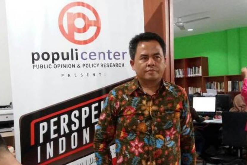 Direktur Public Opinion & Policy Research atau Populi Center Usep S. Ahyar