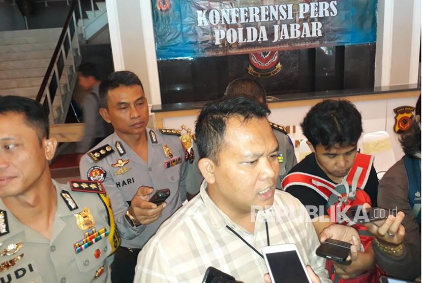 Direktur Rerserse Kriminal Umum Polda Jabar, Kombes Pol Umar Surya Fana, SiK.