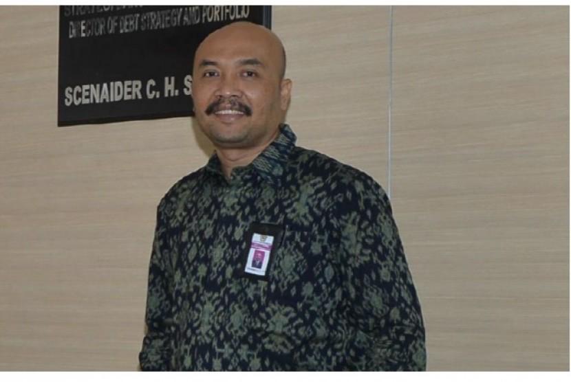 Direktur Strategi dan Portofolio Utang Direktorat Jenderal Pembiayaan dan Risiko Kementerian Keuangan Scenaider Siahaan