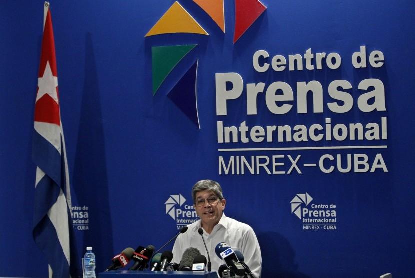 Direktur Urusan AS di Kementerian Luar Negeri Kuba Carlos Fernandez de Cossio