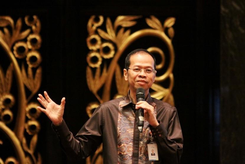 Direktur Utama bank bjb Ahmad Irfan.