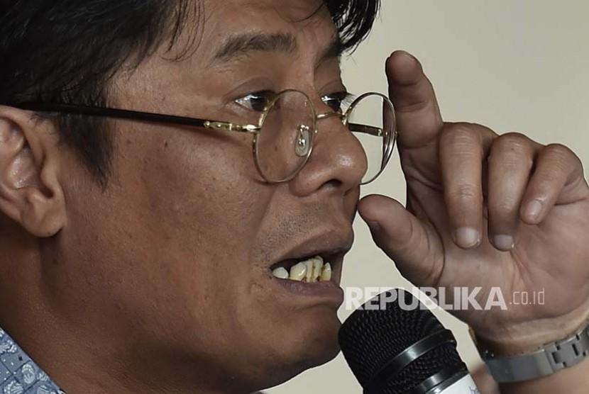 Direktur Utama Pertamina Elia Massa Manik.