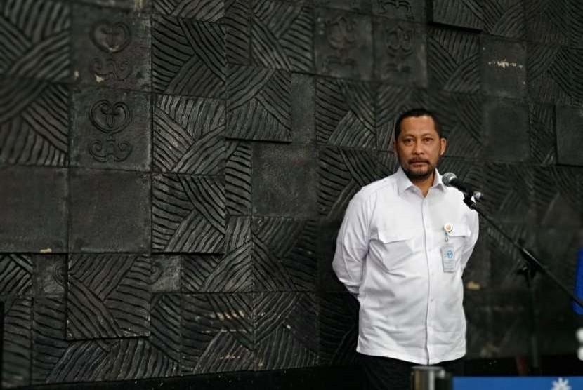 Direktur Utama Perum Bulog Budi Waseso (Buwas) dalam konferensi pers di Kantor Pusat Perum Bulog, Rabu (19/9), menegaskan tidak akan melakukan impor beras hingga Juni 2019 karena stok hingga akhir 2018 bisa sampai tiga juta ton setelah semua total impor beras masuk sebanyak 1,8 juta ton dari pesanan 2017.
