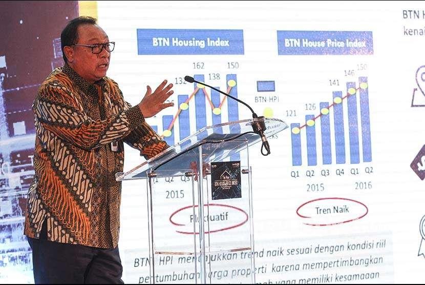 Direktur Utama PT Bank Tabungan Negara (Persero) Tbk Maryono.