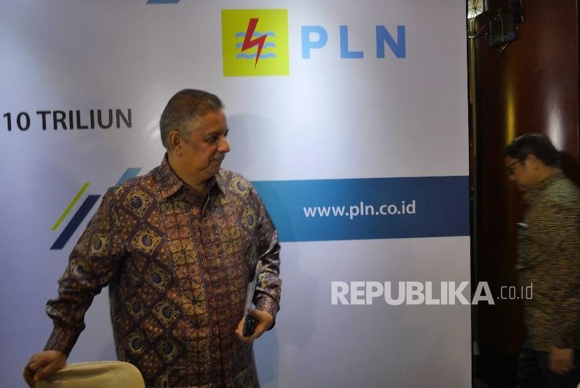 Direktur Utama PT Perusahaan Listrik Negara Sofyan Basir.