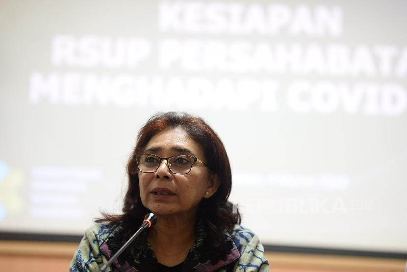 Direktur Pelayanan Kesehatan Rujukan Kementerian Kesehatan (Kemenkes) Rita Rogayah