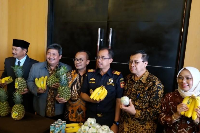 Dirjen Hortikultura Prihasto dan perwakilan kementerian lainnya berkomitmen meningkatkan ekspor, di antaranya bidang pertanian.