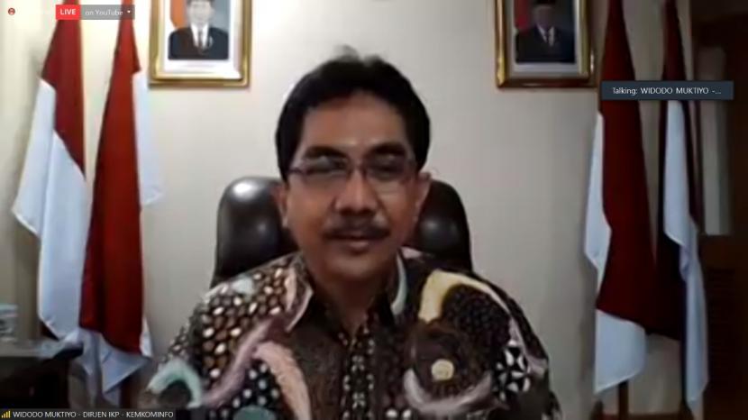 Dirjen Informasi dan Komunikasi Publik Kementerian Komunikasi dan Informatika, Prof Widodo Muktiyo