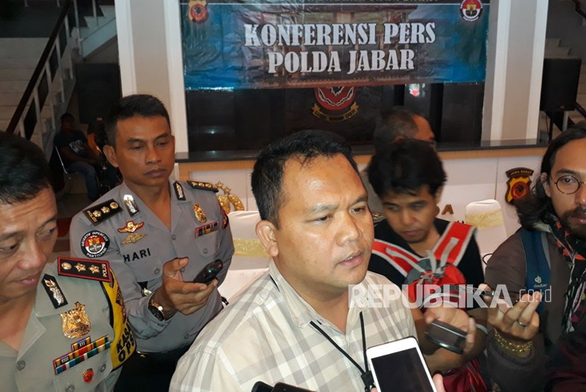 Director of General Crimes of the West Java Regional Police, Senior Commissioner Umar Surya Fana