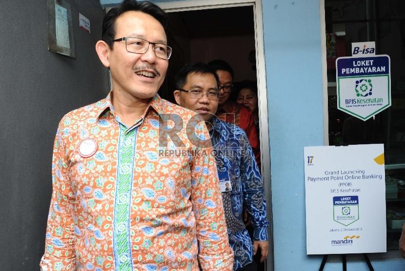 Dirut BPJS Kesehatan Fahmi Idris.