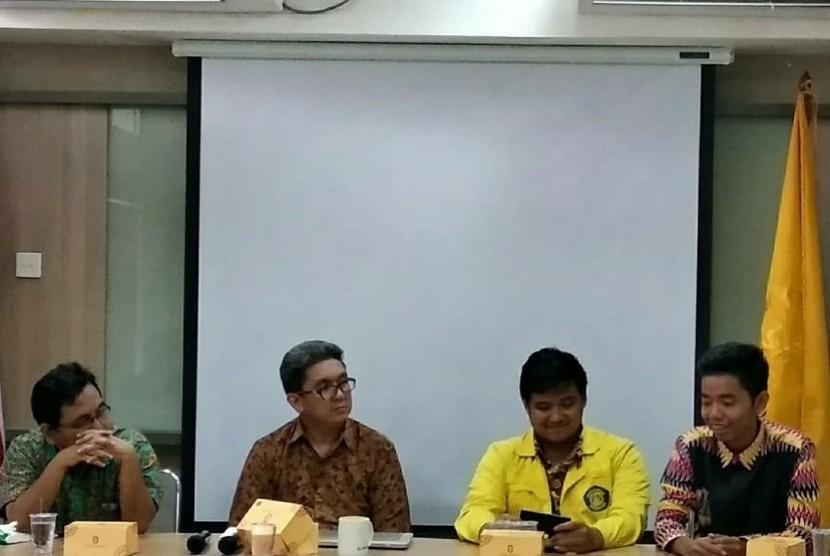 Diskusi bulanan Policy Center Iluni UI di Jakarta.