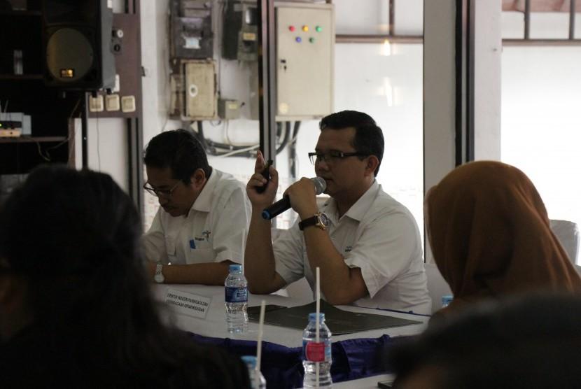 Diskusi pengembangan destinasi wisata di Kabupaten Purworejo yang digelar Badan Otorita Borobudur (BOB) di Kantor BOB.