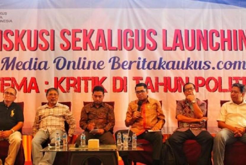 Diskusi publik Kaukus Muda Indonesia (KMI) bertema