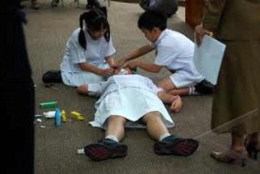 Kala Dokter Cilik Beraksi Soal Sadar Gizi Di Sekolah Republika Online