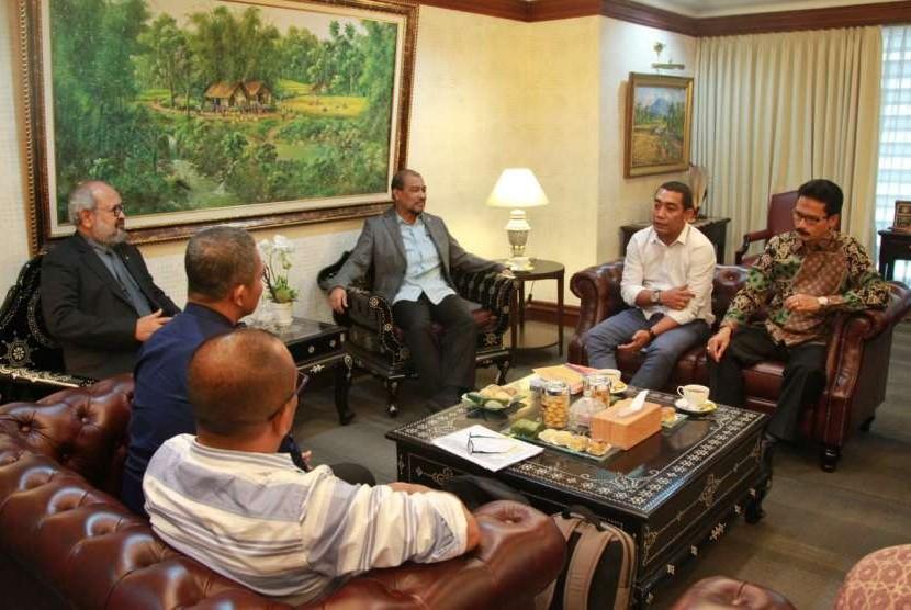 DPD menerima Panitia Khusus Rencana Pembangunan Jangka Menengah Aceh