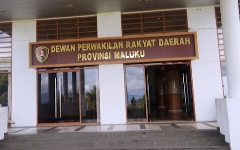 DPRD Provinsi Maluku di Kota Ambon.